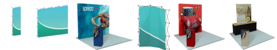 <H2> Hop Up Fabric Tension Hop Ups | All Sizes | All Shapes | Durable | Graphics | Starting Under $400 </H2>