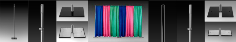 <H2> Pipe And Drape Systems | Portable | Affordable |  Drapes | Complete Backwalls Starting under $200 </H2>