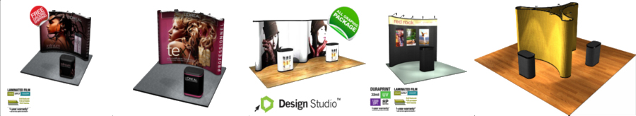 <H2> Pop Up Trade Show Displays | Portable | Affordable | Free Upgrades | Pop Ups Starting Under $600 </H2>