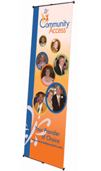Banner Stand, Non Retractable