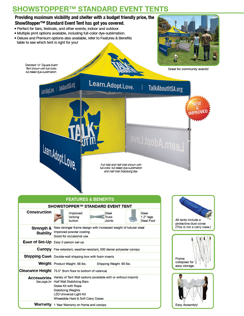 Features and benefits of table tents
