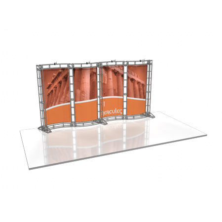 Hercules -20' Truss System Display, Trade Show Display Systems