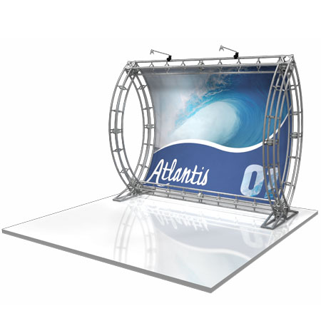 Atlantis Truss Displays, Trade Show Display Systems