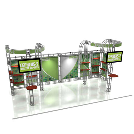 Cepheus Truss System Display, Trade Show Display Systems