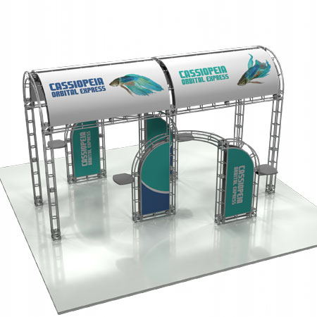 Cassiopiea Truss System Display, Trade Show Display Systems