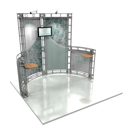 Cetus Truss System Display, Trade Show Display Systems
