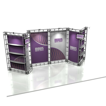 Indus Truss System Display, Trade Show Display Systems