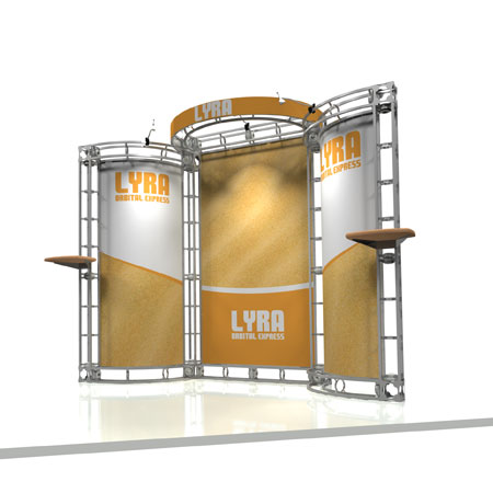 Lyra Truss System Display, Trade Show Display Systems