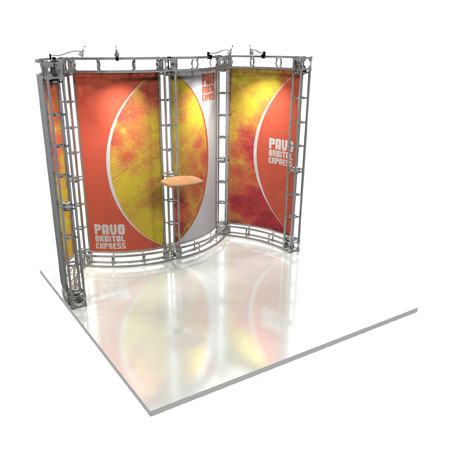 Pavo Truss System Display, Trade Show Display Systems