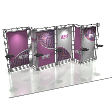 Venus Truss System Display, Trade Show Display Systems