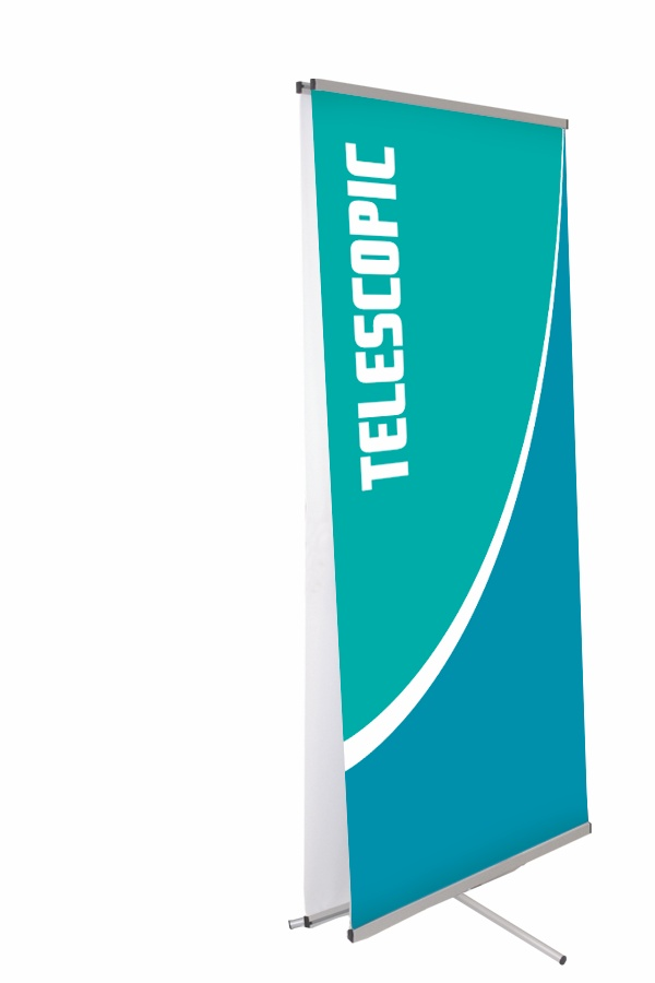 Dash Banner Stand, Telescoping