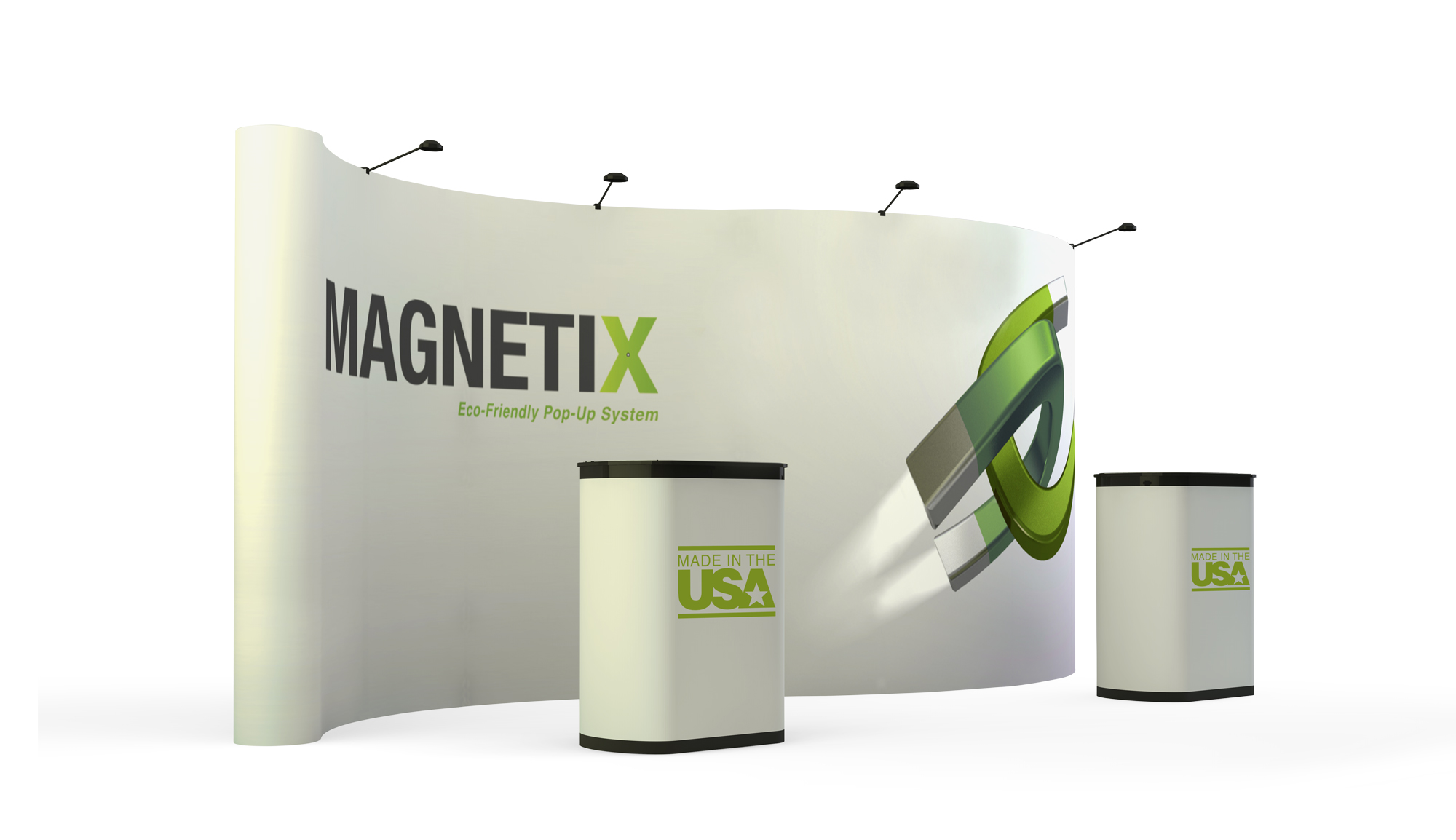 PLRM10-G10 Pop Up Trade Show Display | Magnetix