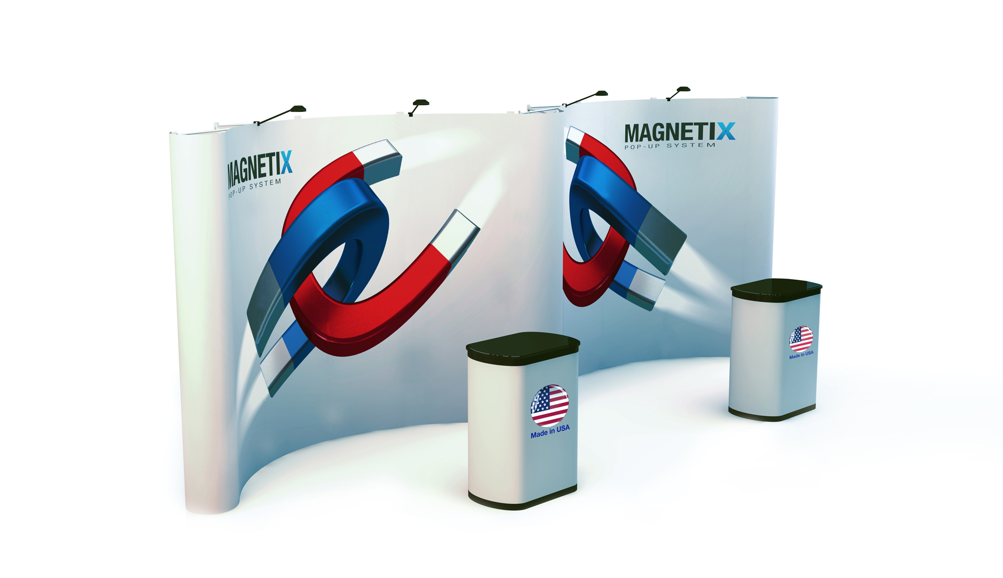 PLRM9-G11 Pop Up Trade Show Display | Magnetix