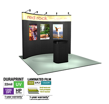 Detachable Graphic Pop Up Trade Show Display