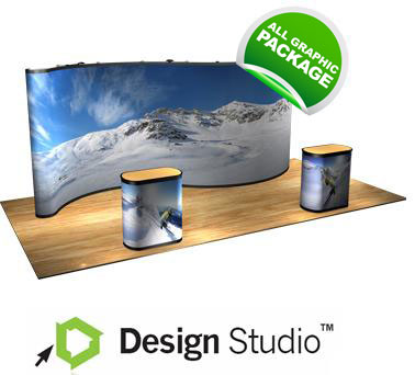 20' Premium Pop Up Trade Show Displays